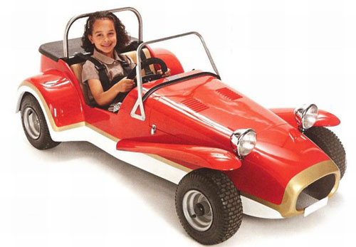 Mini seven for rich kid by the house of mini electric for Motorized vehicles for kids
